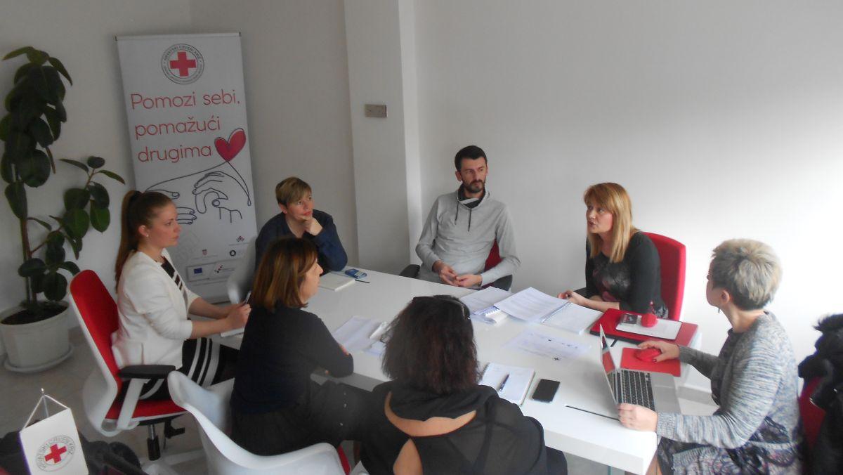 Prvi koordinacijski sastanak projekta održan je 26. siječnja u prostoru GDCK Valpovo na kojem su definirane odgovornosti, dinamika provedbe aktivnosti te planiranih zajedničkih sastanaka tijekom provedbe projekta.