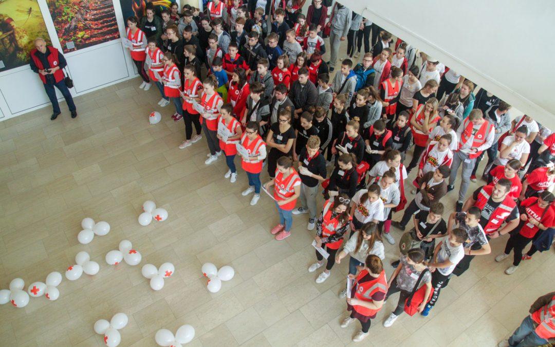 Međužupanijsko natjecanje mladih Hrvatskog Crvenog križa